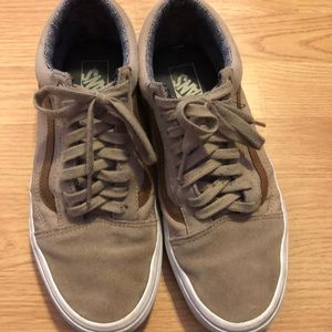 Tan Vans Old Skool Sneakers